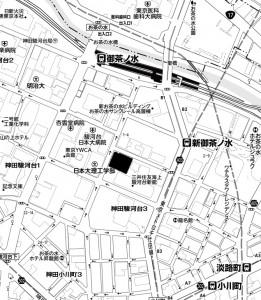 中央大駿河台キャンパス地図